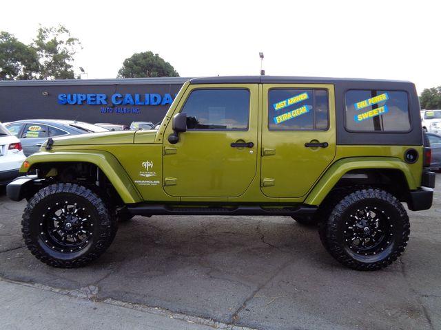 2007 Jeep Wrangler Unlimited Sahara ...